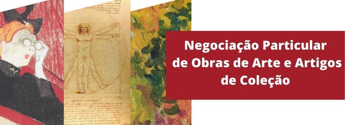 Negociação Particular de Obras de Arte e Artigos de Coleção