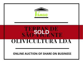 Online Auction of Share of Business - Terras de São Vicente