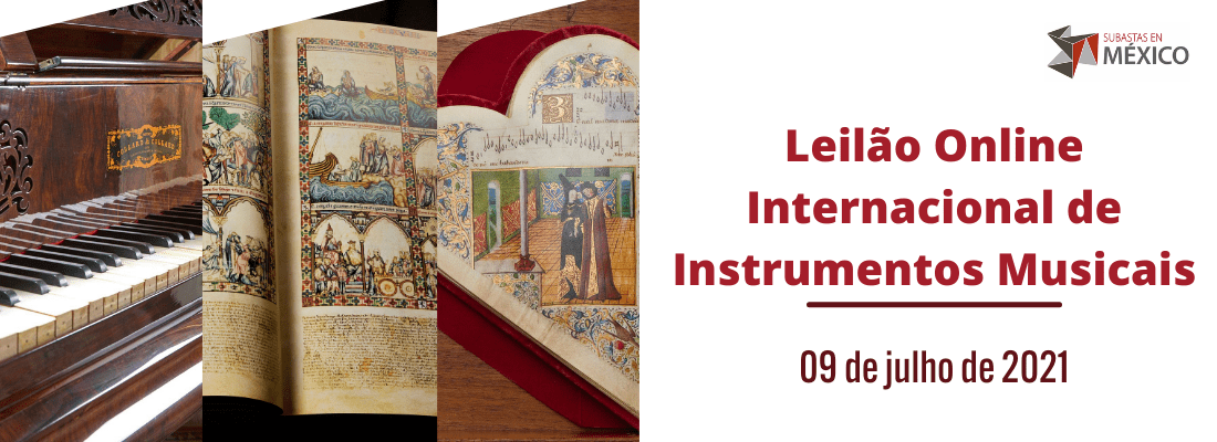 Leilão Internacional de Instrumentos Musicais