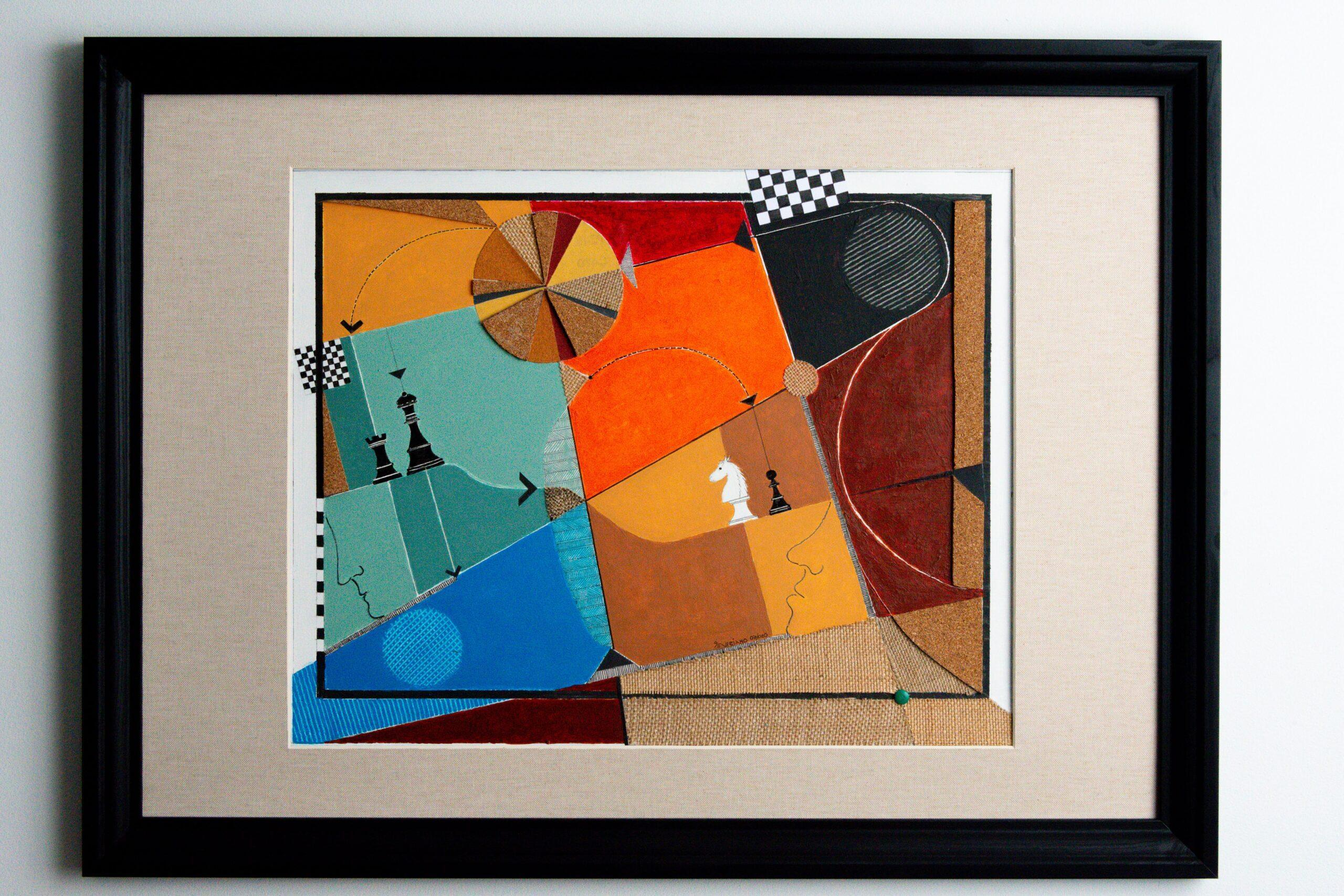 Obras de Arte e Quadros de José Severiano Xadrez