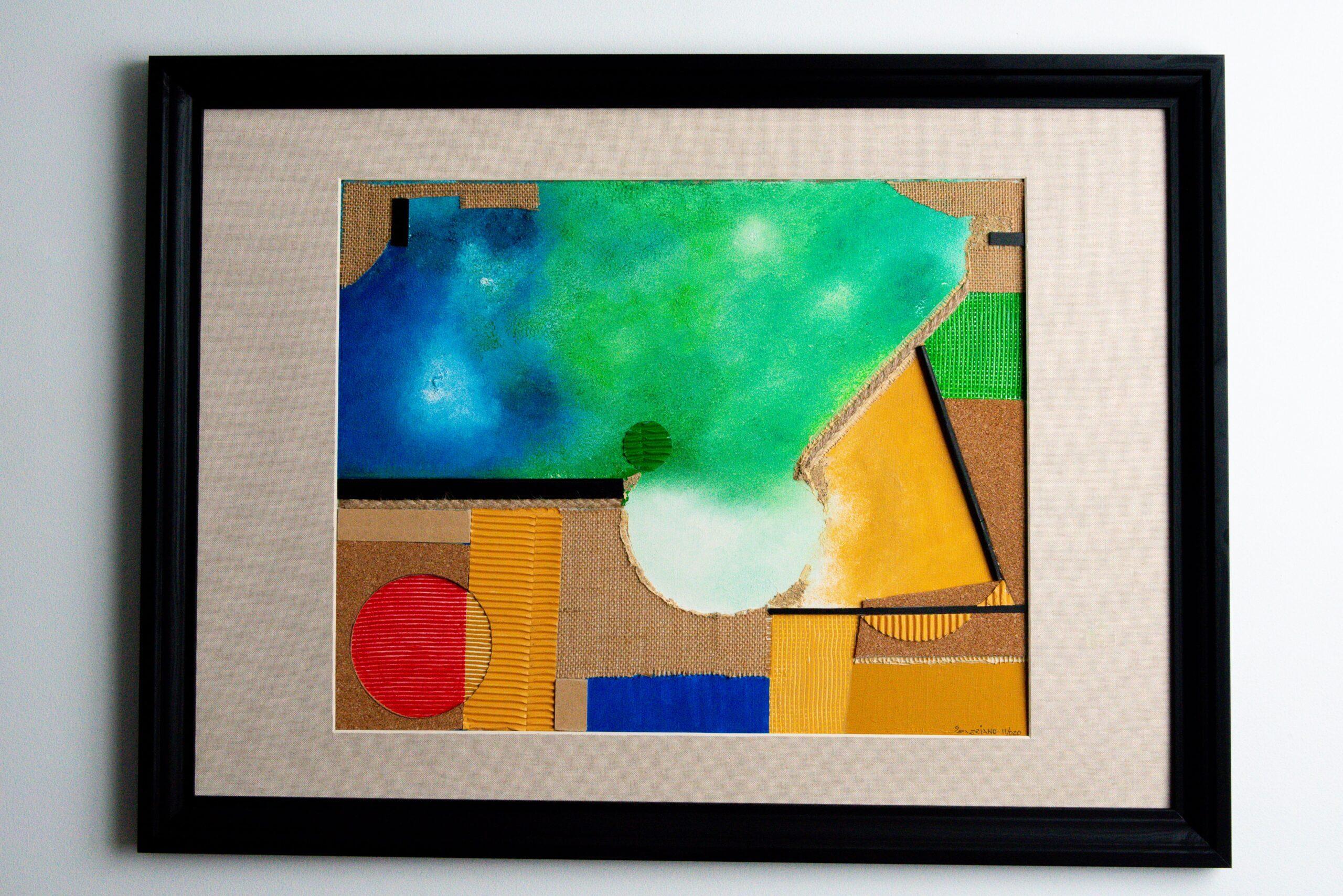 Obras de Arte e Quadros de José Severiano Nuvem Amazônica